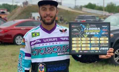 Ramon Leal é campeão de BMX em etapa na Flórida, Estados Unidos; Veja vídeo