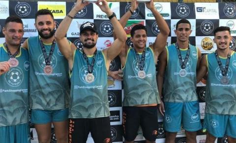 Futevôlei: Kennedenses conquistam vice-campeonato Rio Grande do Sul