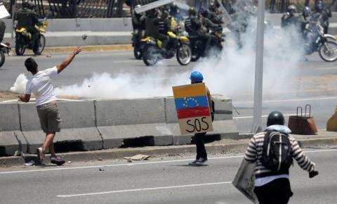 Protestos na Venezuela já fizeram dois mortos e dezenas de feridos