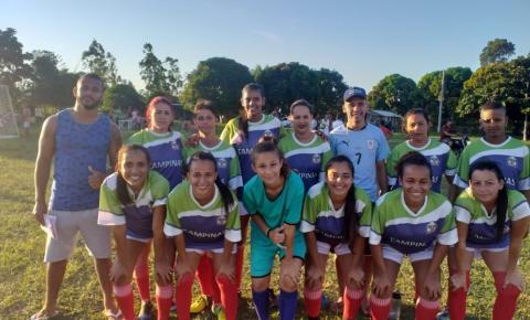 Campeonato Feminino e Veterano de futebol agitam o fim de semana; Confira os resultados da 2ª rodada