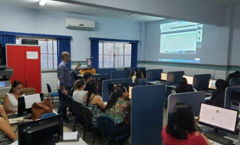Educação realiza treinamento para implantação do Diário Eletrônico Escolar