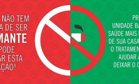 Secretaria de Saúde realizará ações de conscientização para o Dia Mundial Sem Tabaco