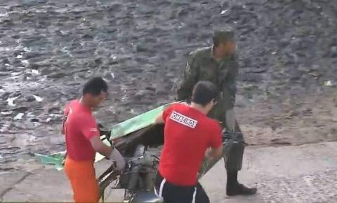 Polícia encontra motor do avião que transportava Gabriel Diniz