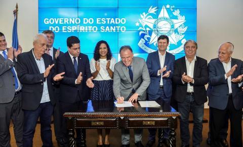 Governador sanciona leis que criam Fundo Soberano e Fundo da Infraestrutura