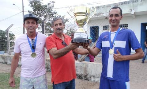Marobá é campeão da categoria veteranos no Campeonato Municipal de Futebol