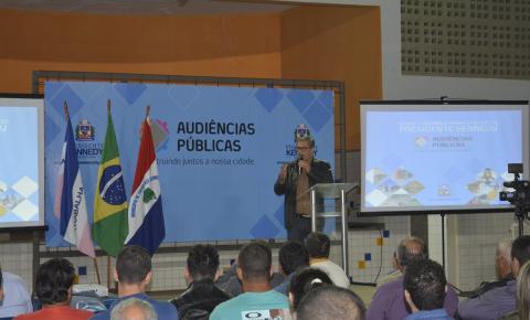 Em Santa Lúcia, Prefeitura realiza primeira Audiência Pública para a LOA 2020