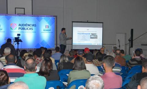 Quarta audiência pública LOA 2020 será nesta segunda(15) na comunidade de São Paulo