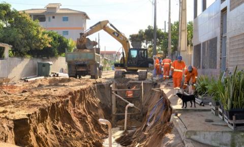 Obras de saneamento básico serão concluídas no mês de agosto em Marobá