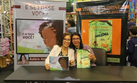 Escritoras capixabas Anete Lacerda e Isa Colli foram sucesso na Bienal do Rio