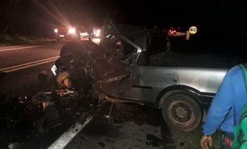 Casal de Iconha morre em acidente na BR 101 em Rio Novo do Sul