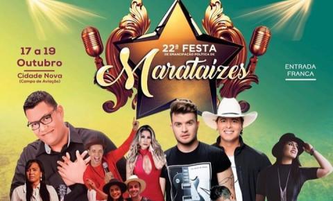 Festa de Marataízes é nesse fim de semana; Confira a programação
