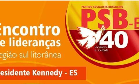 Encontro de Lideranças é neste sábado(19) em Presidente Kennedy; Participe