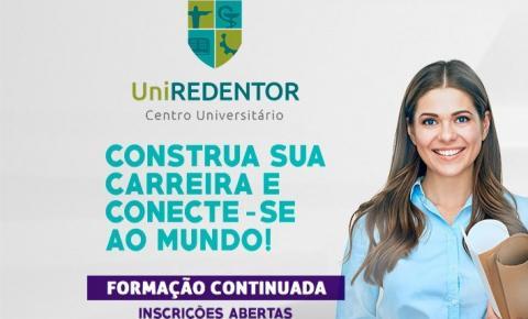 Universidade UniRedentor lança cursos de formação continuada em Presidente Kennedy; Confira as oportunidades