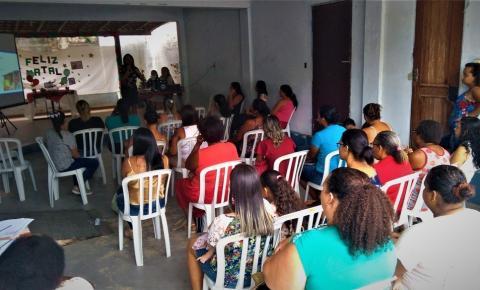 Central do Cadastro Único realiza palestra para famílias beneficiárias