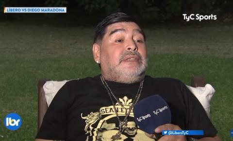 Maradona diz que foi abduzido por alienígenas após beber; Assista a entrevista completa