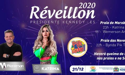 Katrina vai agitar réveillon em Presidente Kennedy