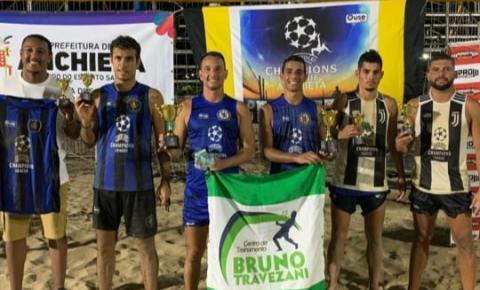 Campeão e vice: Kennedenses vencem maior torneio de futevôlei do Espírito Santo