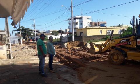 Prefeitura abre licitação para pavimentar as ruas de Marobá