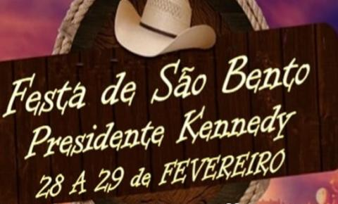 Festa da Comunidade de São Bento é neste fim de semana; Confira a programação