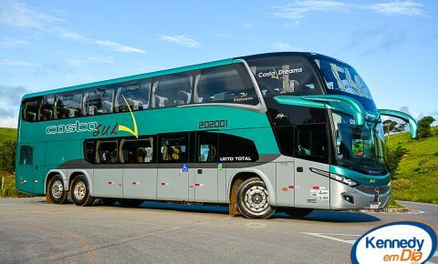 Costa Sul Turismo inaugura seus primeiros ônibus Double Decker