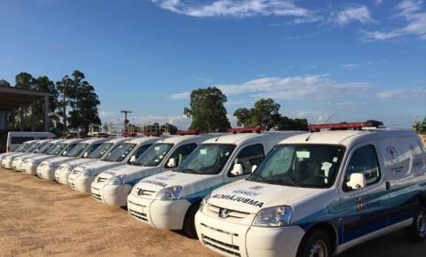 Prefeitura entrega 10 novas ambulâncias para a população de Presidente Kennedy