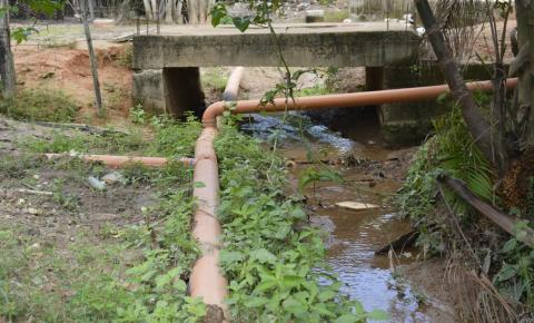 Prefeitura pede que população de Santa Lúcia não faça ligação à rede de esgoto