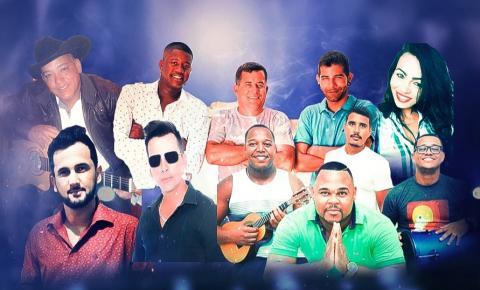 Wallas Júnior e artistas da terra promovem super LIVE neste sábado (20)