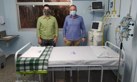 Casagrande inaugura 60 leitos para tratamento de pacientes infectados pela Covid-19 em Cachoeiro