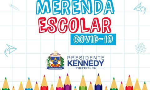 Quarta etapa: prefeitura faz nova entrega de merenda escolar para alunos das escolas municipais