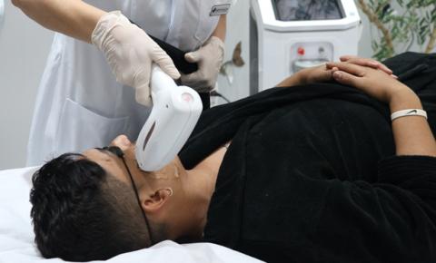 Procura por depilação a laser tem crescido entre o público masculino