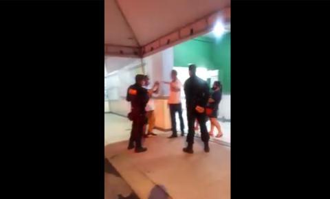 Vice-prefeito de Cachoeiro, Jonas Nogueira foi encaminhado para o DPJ por agredir servidor público