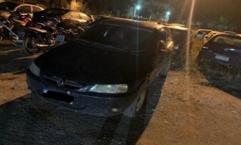 Veículo roubado de moradores de Cabral é recuperado pela PM em Cachoeiro; Roubo aconteceu em Garrafão
