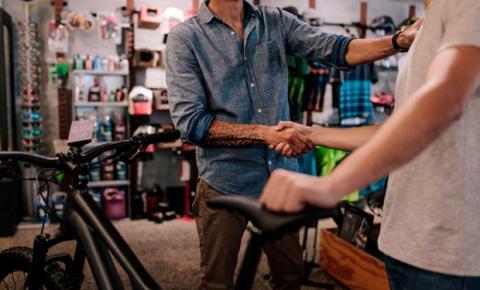 Negócios: atendimento ao cliente em bikeshops