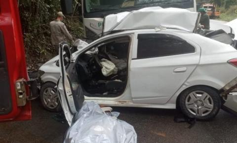 Kennedense morre em grave acidente na BR-262, em Marechal Floriano