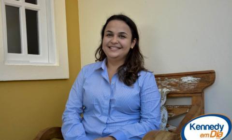 Entrevista com a prefeita Amanda Quinta Rangel