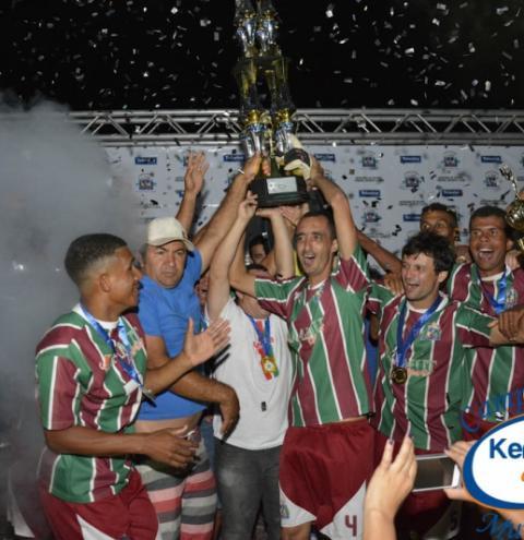 Marobá é o grande Campeão do Municipal 2015