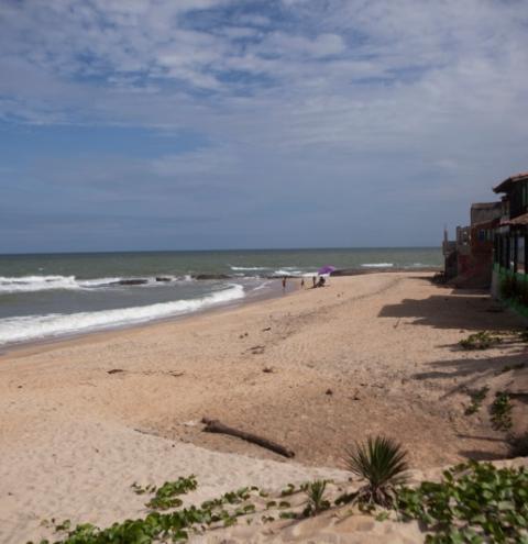 Acesso às praias de Marataízes está proibido durante a quarentena
