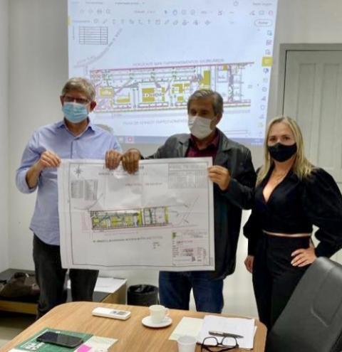 Prefeitura recebe equipe do Ifes para apresentação do Projeto Inicial de Implantação