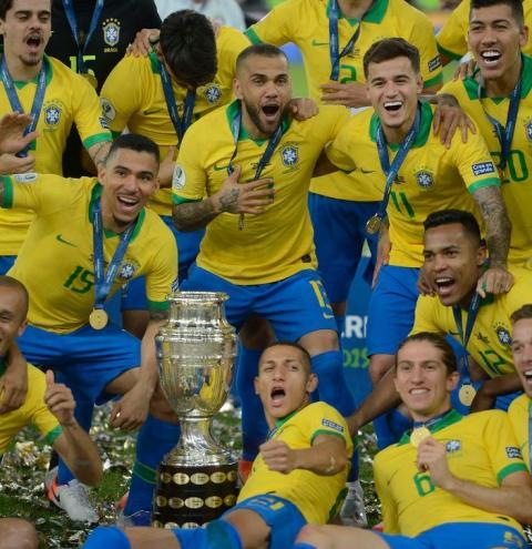 Brasil Campeão da Copa América; Tite comemora vitória no Maracanã